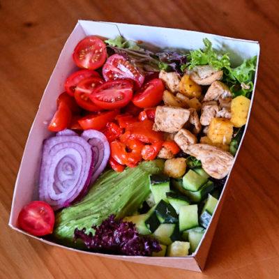 Hot Fowl Salad